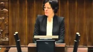 [58/441] Hanna Majszczyk: Panie i Panowie Posłowie! Odnosząc się do wielu pytań, które zosta...