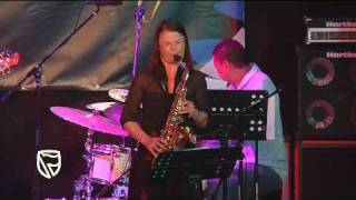 Sibongile Khumalo performs at the Standard Bank Jazz Festival in Grahamstown -- Part 2
