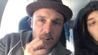 The Good Dog's Q And A Saturday...on A Plane! 11/8/14 (episode #4)