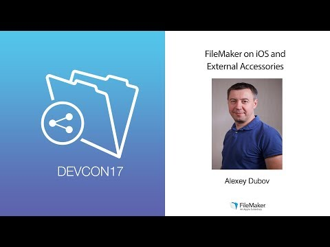 FileMaker on iOS and External Accessories (Innovation Track 009)