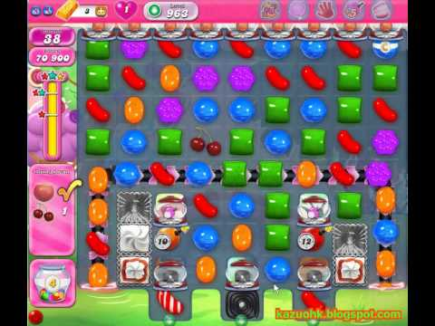 Candy Crush Saga - level 963 (3 star, No boosters)
