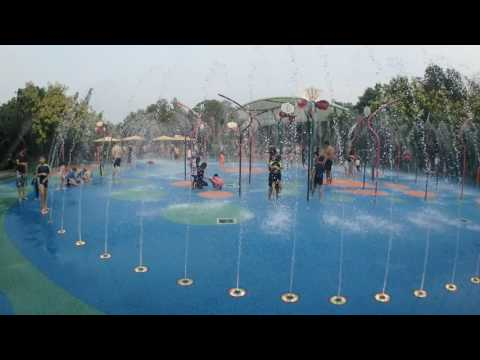 Gardens by the bay water playground