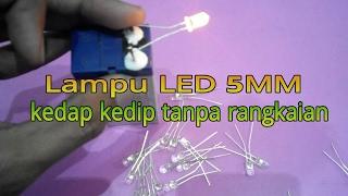 Lampu LED 5mm kedap kedip praktis
