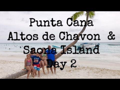 Punta Cana - Altos De Chavon & Saona Islands - Day 2 vlog- We're stuck!