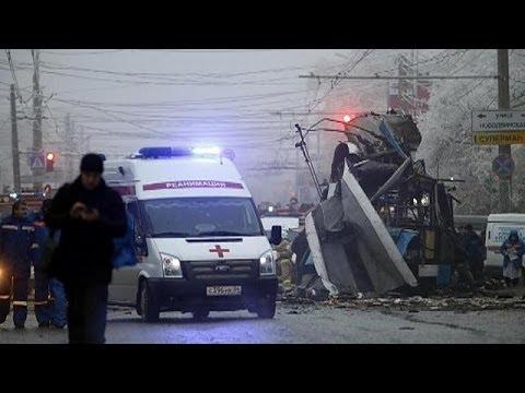 CCTV footage of Volgograd train station suicide blast released