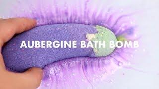 Aubergine Bath Bomb | Lush Demo