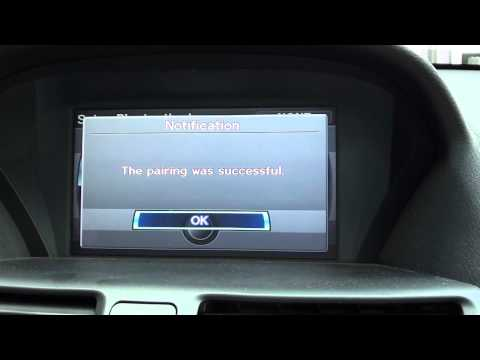 How to connect bluetooth phone to a Acura TL