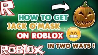 Comment obtenir Jack O' Masque [Roblox] 2 façons les plus faciles (PC MAC)