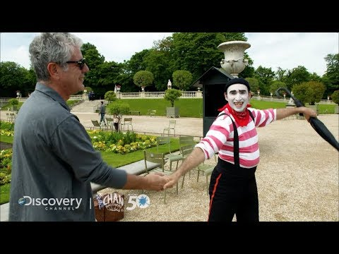 Anthony Bourdain's Top 5 Travel Tips for Paris