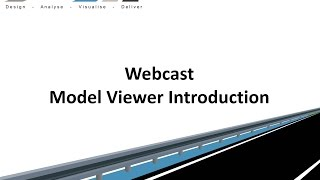 Civil Site Design - Webcast - Model Viewer Introduction