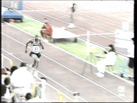 Mike Powell Long Jup 8,70m Slow Motion - Salamanca 1993