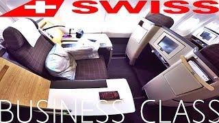 Swiss BUSINESS CLASS Bangkok to Zurich|A340-300