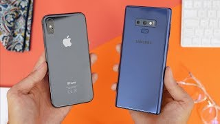 iPhone X 🍏 vs Samsung Galaxy Note 9 💫 | Co wybrać?