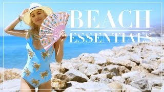 MY BEACH BAG ESSENTIALS | Evelina