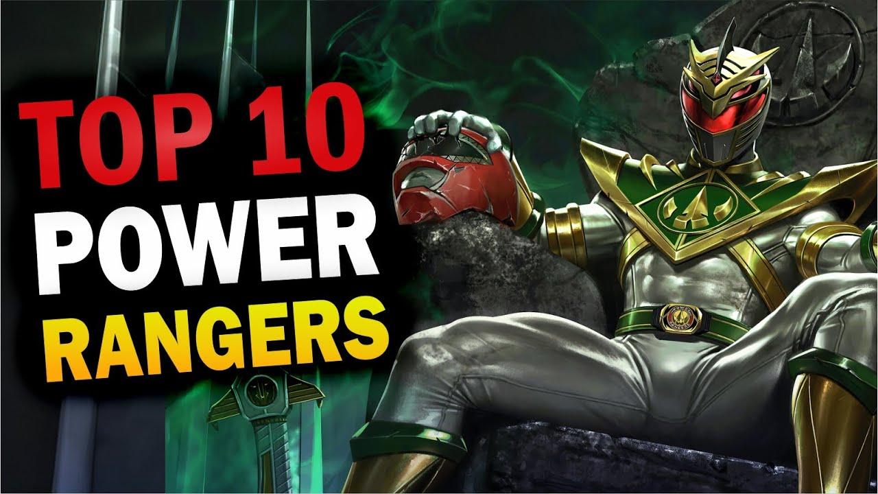 RANKING: 10 POWER RANGERS ORDENADOS POR NIVEL DE PODER Feat:@Canal SuperHero