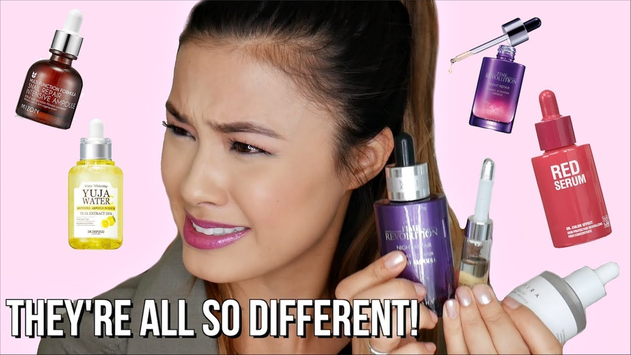 Ampoules Vs Serums What Exactly Is An Ampoule Skincare Shorts Youtube