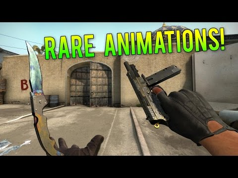 CS GO - Alternate & Rare Weapon Animations