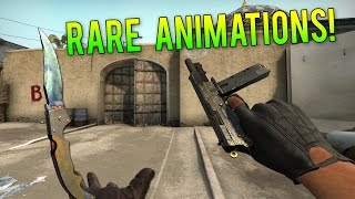 CS GO - Suppléant & Arme Rare Animations