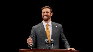 Chris Long Addresses UVA's Class of 2018