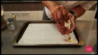 Herman maak stap-vir-stap poffertjies vir croquembouche