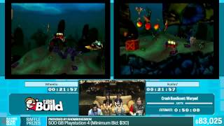 Crash Bandicoot: Warped by Wheelio and Kollin7 in 48:45 - Summer Games Done Quick 2015 - Part 10