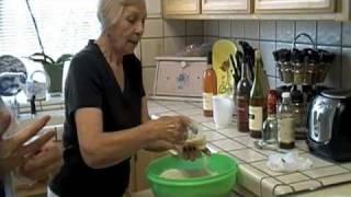 Sicilian Ladies Making Cannoli Shells Part 1