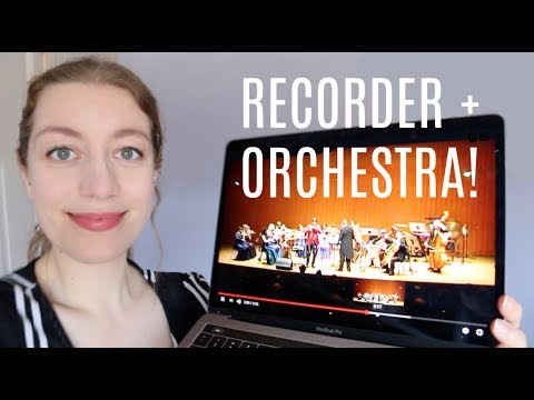 The Recorder and Orchestra | Team Recorder