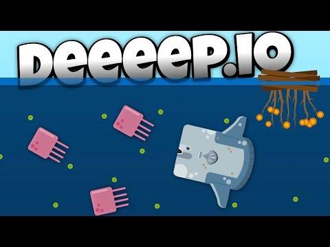 Deeeep.io - Amazing New Sunfish! - Lets Play Deeeep.io Gameplay