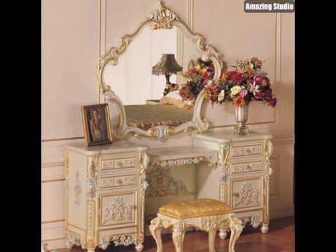 make up tisch wei e m bel ikea vintage youtube. Black Bedroom Furniture Sets. Home Design Ideas