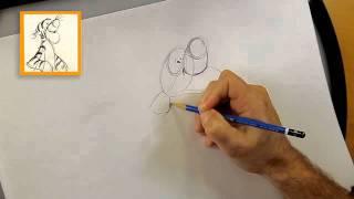 Winnie de Poeh - Hoe teken je Teigetje?
