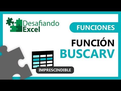 ¿Cómo usar la función BUSCARV en Excel? | Funciones en Excel #5