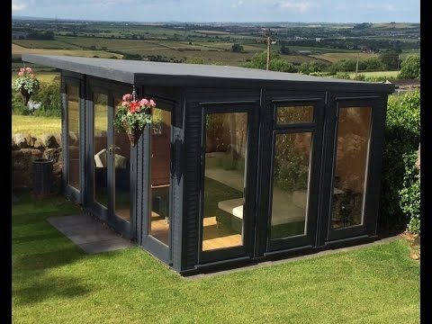 terrific insulated garden room | The New Design of Fully Insulated EcoSuite Garden Room ...
