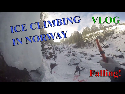 ICE CLIMBING in Norway, Rjukan | VLOG | GoPro