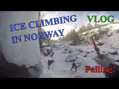 ICE CLIMBING in Norway, Rjukan | VLOG | GoPro
