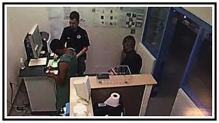 Inmate Stabs And Bites Jail Corrections Officers | CCTV | United States | 20190716