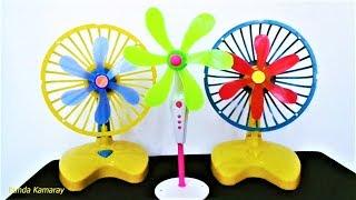 Fan Toys   Kipas Angin Mainan Baling Biru Hijau Merah Quat Mini