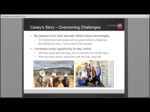 Acromegaly Patient Webinar – Managing Acromegaly As A Chronic Condition