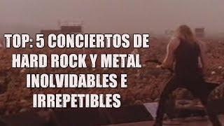 Top: 5 conciertos de Hard Rock y Metal inolvidables e irrepetibles