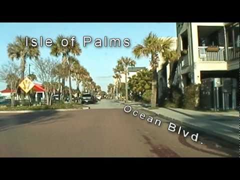 Drive around Daniel Island, Isle of Palms and Sullivans Island