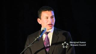 Wab Kinew, CBC Broadcast Journalist/Host, The 8th Fire: Inclusion Works Thought Leader