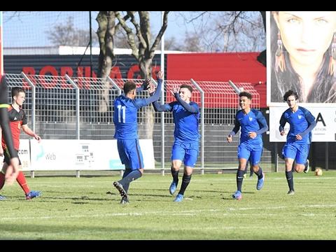 U17 : France - Belgique (5-1), le résumé