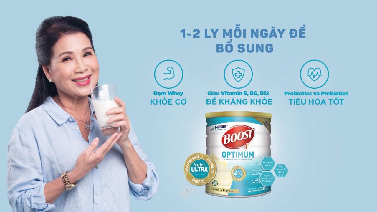 Boost Optimum - Duy Trì Sức Khỏe | Dinh dưỡng