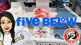 FIVE BELOW SH©P WITH MIMI!!! *BRAND NEW* $5 CROP TOPS•$5 JEAN SHORTS•$5 SHOES!!!