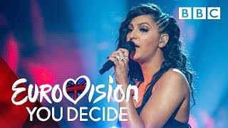 Anisa performs 'Sweet Lies' - Eurovision: You Decide 2019 - BBC