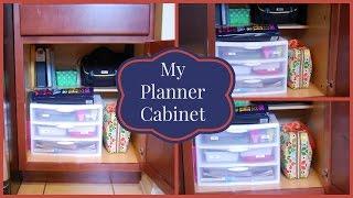 Planner Storage Cabinet
