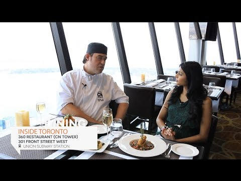 360 Restaurant Executive Chef Interview with Peter George | Inside Toronto Travel Guide