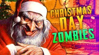 CHRISTMAS DAY ZOMBIE SURPRISE Call of Duty Zombies