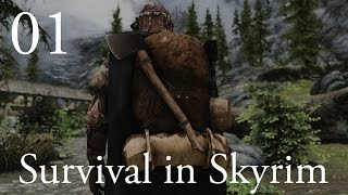 "Survival in Skyrim (Hardcore Modded Skyrim): Ep 1 - ""Shipwrecked!"""