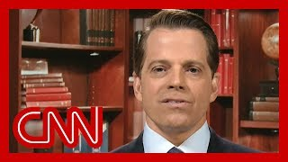 Anthony Scaramucci says he does not support President Trump's reelection