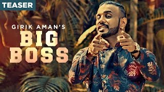 Big Boss Song Teaser | Girik Aman | Parmish Verma | Releasing 15 December